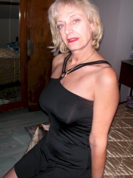 Passez une nuit chaude avec une femme mature coquine